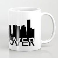 vancouver Mugs featuring Vancouver  by Allison Kiloh
