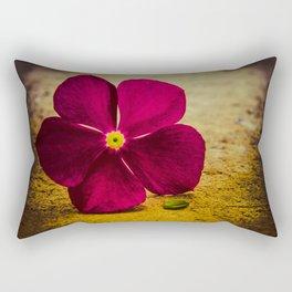 i send you a flower Rectangular Pillow