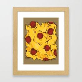 Center Piece a' Pizza Framed Art Print
