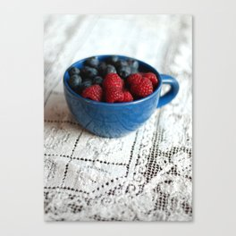 Berries in Morning Light Canvas Print