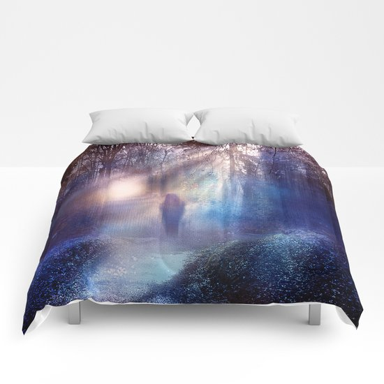 Path lights Comforters