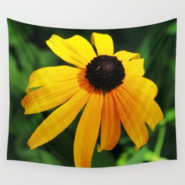 Golden glow of a black-eyed Susan, Rudbeckia Wall Tapestry