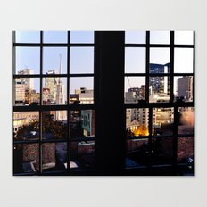 View from the Top, Boston Canvas Print