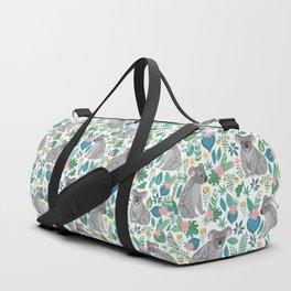 Floral Koala Duffle Bag
