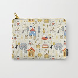 Wonderland Fairy Tale Pearl Carry-All Pouch