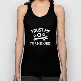 Trust Me I'm A Mechanic Unisex Tank Top