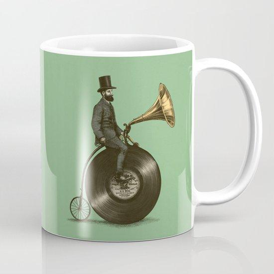 Music Man (Green Option) Mug