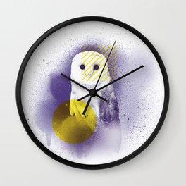 The Calm Owl Wall Clock