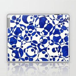 Blue Circle Composition Laptop & iPad Skin