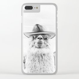 JOE BULLET Clear iPhone Case
