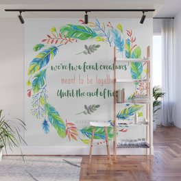 Two Feral Creatures Wall Mural
