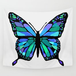 The Shattering Butterfly Wall Tapestry