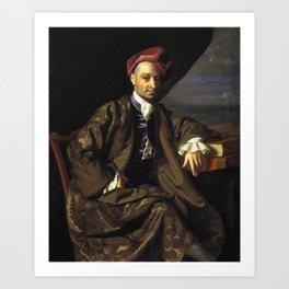 Nicholas Boylston by John Singleton Copley Art Print
