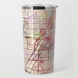 Las Vegas map 2 Travel Mug