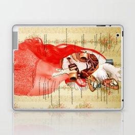 Lydias Black Lung Laptop & iPad Skin