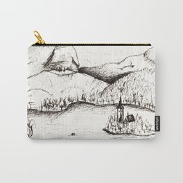 Lake Bled Carry-All Pouch