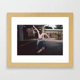 GNAR BONE Framed Art Print