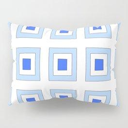 Tribute to mondrian 5- piet,geomtric,geomtrical,abstraction,de  stijl, composition. Pillow Sham