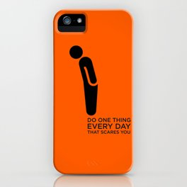 Sunscreen / Do one thing that scares you iPhone Case