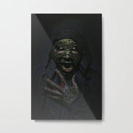 Boogie Horror: Mirror Mask Metal Print