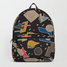 Memphis Inspired Design 8 Backpack