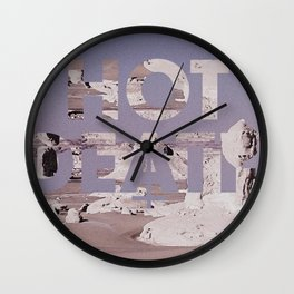 HOT DEATH Wall Clock