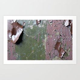 Lead paint anyone? Art Print