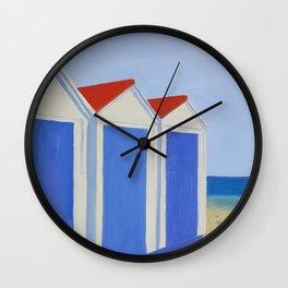 Summer Shacks #4 Wall Clock