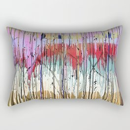 Acid Rain Rectangular Pillow