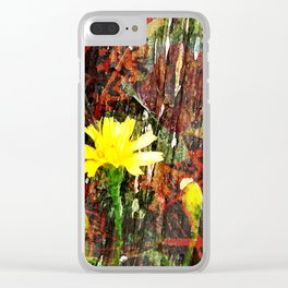 Sunshine in Bloom Clear iPhone Case