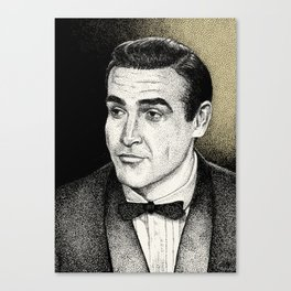 Connery Canvas Print