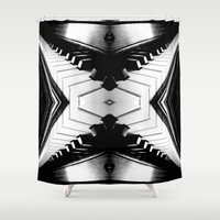 piano Shower Curtains featuring Piano by Becky Betancourt