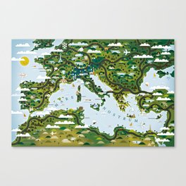 European Toys Canvas Print