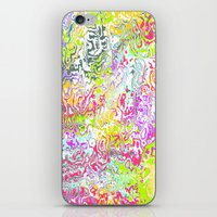 confetti iPhone & iPod Skins featuring Confetti by Abstract Designs