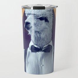 Llama Rama Travel Mug
