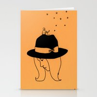 hat Stationery Cards featuring Hat by Marta R. Gustems