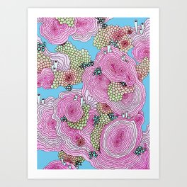 Reef #3.5.1 Art Print