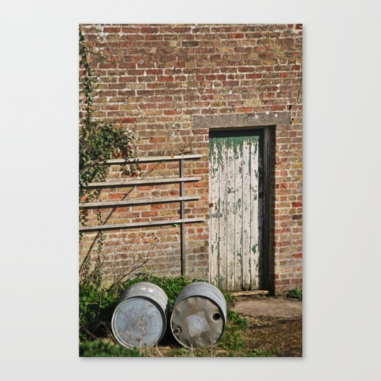 Stables Canvas Print