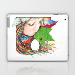 If Mother Earth Was a Child... Laptop & iPad Skin
