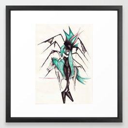 Mugler Pony Framed Art Print
