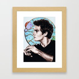 Dylan O'brien Framed Art Print