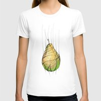 pear T-shirts featuring Pear by Natalia Winiarz