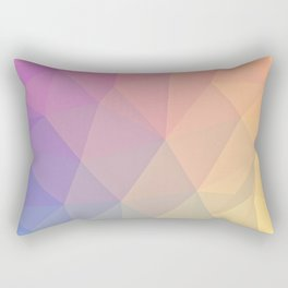 Abstract Polygons Rectangular Pillow