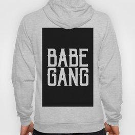 Babe Gang - White Hoody