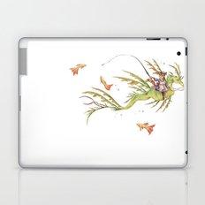 cat fishing  Laptop & iPad Skin