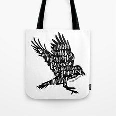 Other People's Futures - The Raven Boys Tote Bag