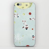 outer space iPhone & iPod Skins featuring Outer Space by Max Grünfeld
