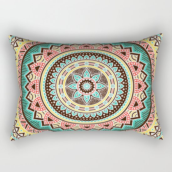 Hippie Mandala 13 Rectangular Pillow
