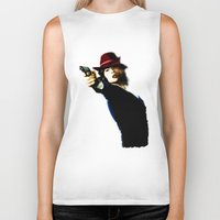 agent carter Biker Tanks featuring Agent Carter by Ms. Givens