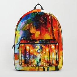 Tardis Art Watching Backpack